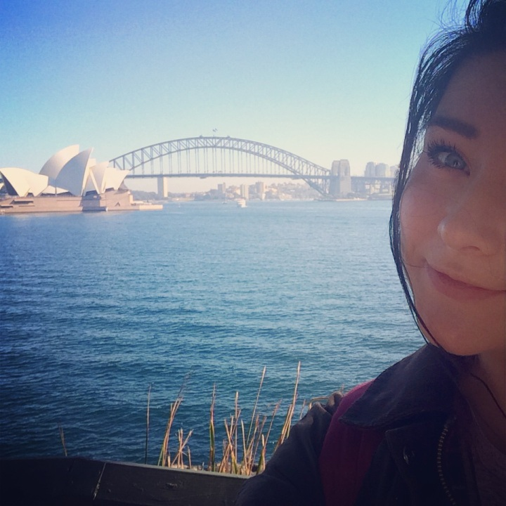 A selfie with the opera house is 100% acceptable