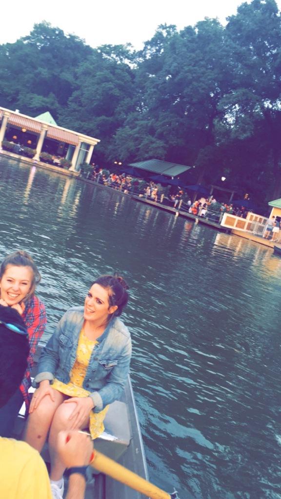 We got a boat