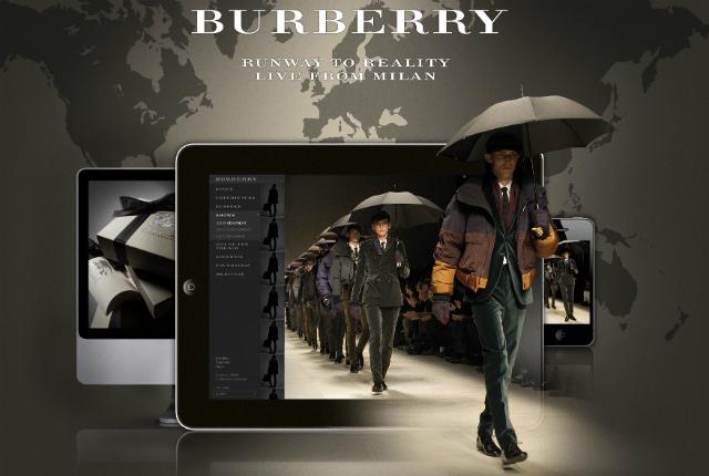 Burberry Prorsum SS13 Menswear Show livestream DECOR
