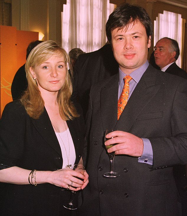 MISS CHRISTIAN RUCKER founder and M/D of The White Company and MR NICK WHEELER, at a reception in London on 29th April 1998. MHF 7